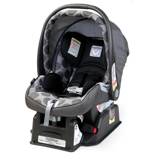 Peg-Perego 2011 Primo Viaggio Infant Car Seat, Pois Grey front-429970