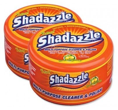 Shadazzle Multi Purpose Cleaner And Polish- 2 Tubs