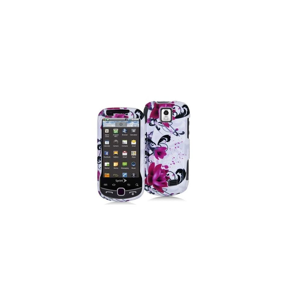 Pink Lily Hard Snap On Case Cover Faceplate Protector for Samsung intercept M910 + Free Texi Gift Box