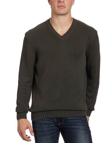 camel active James Men's Jumper Olive X-Large