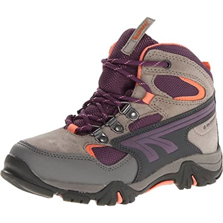 Keep you kids safe on any trail in the Hi-Tec Nepal Jr Boots! Waterproof hiking boot has a plush tongue, ghylly and double lacing system for secure fit, moisture wicking lining to keep their feet dry, and an Ortholite insole delivers long lasting cus...