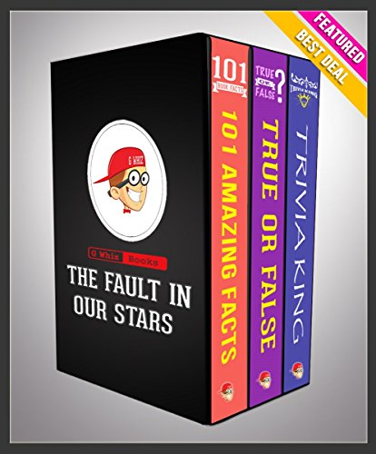 G Whiz - The Fault in Our Stars: G Whiz Trilogy Set (Limited Edition): Fun Facts & Trivia Tidbits (English Edition)