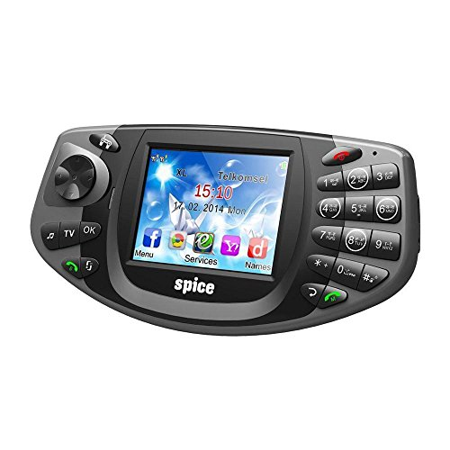 Spice Gaming Mobile X2-DUAL SIM/ANALOG TV/WIRELESS FM-GREY