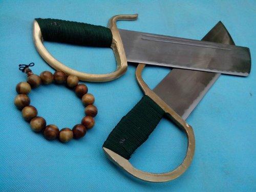 Wing Chun pole/Medium carbon steel blade/Brass hand/Kung fu equipment/Ye wen