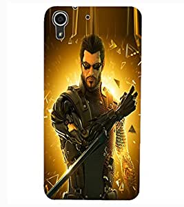 ColourCraft The Warrior Design Back Case Cover for HTC DESIRE 626