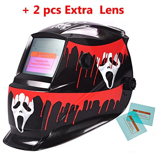 iMeshbean-Pro-Adjustable-Cool-Skull-Solar-Auto-Darkening-Welding-Grinding-Helmet-Extra-Lens-Covers-ANSI-Certified-Model1043-USA
