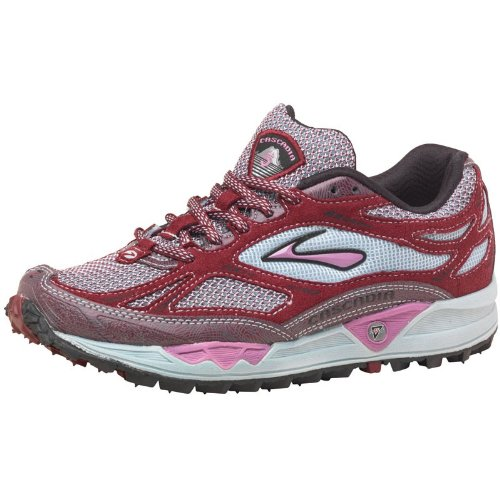 Brooks Womens Cascadia 5 Trail Running Shoes Port/Dahlia