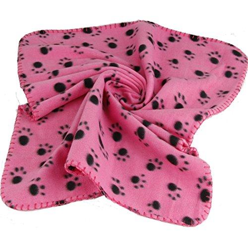 Seiten Versehen Flanell Saugfähigen Tuch Die Plüsch Teppich Cushion Haustiere Gewidmet (Rosa, M: 100x70cm)