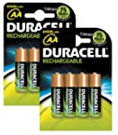 Duracell rechargeable 2400 mAh AA bat...