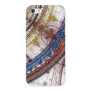 Enticing Sonarp Multicolor Back Case Cover for iPhone SE