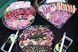 【商番813】厳選・特選バーベキューセット 特製タレ、箸、紙皿付 総重量約7kg (20人前)