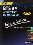 Toutes les mati�res BTS Assistant de manager