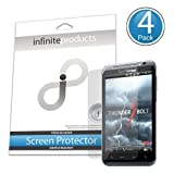 Infinite Products VectorGuard Screen Protectors for HTC ThunderBolt (4 Pack) CLEAR ~ Infinite Products