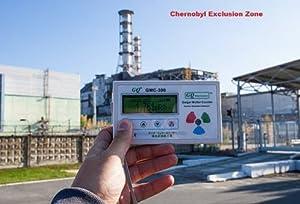 GQ GMC-300E-Plus Digital Geiger Counter Nulcear Radiation Detector Monitor Meter dosimeter Beta Gamma X ray data logger recorder realtime monitoring test equipment