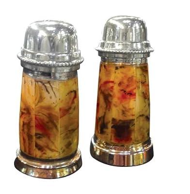Vintage roses salt & pepper shakers by IP