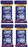 4 x Duzzit Glass Window Mirror Cleaning Wipes Pack Of 50