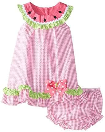 Amazon Rare Editions Baby Baby Girls Seersucker