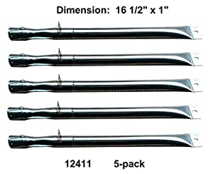 12411 5 pack stainless steel straight pipe