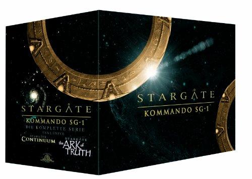 Stargate Kommando SG-1 - Die komplette Serie (inkl. Stargate Continuum & Stargate the Ark of Truth) [61 DVDs]