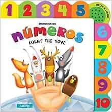 Numeros Count the Toys (Spanish for Kids): Ashley Edwards
