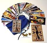 Twisted Toyland Tarot Cards - 22 Card Major Arcana Deck (With Handmade Tarot bag) (Twisted Toyland Tarot)