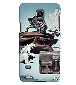 PrintVisa Cool Boy 3D Hard Polycarbonate Designer Back Case Cover for Samsung Galaxy S5 Mini