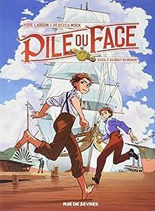 vignette de 'Pile ou face n° 1<br /> Cavale au bout du monde (Hope Larson)'