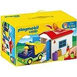 Playmobil 1.2.3 - Camión con garaje (6759)