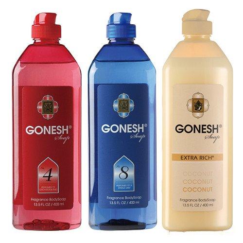 ガーネッシュ GONESHソープ 3つ の香りが楽しめる3本セット