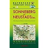 Naturpark Thüringer Wald 18. Sonneberg und Neustadt/Coburg 1 : 30 000 Wanderkarte: Mit Effelder, Mengersgereuth-Hämme...