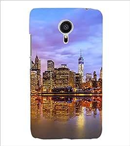 PRINTSWAG CITY Designer Back Cover Case for MEIZU MX5