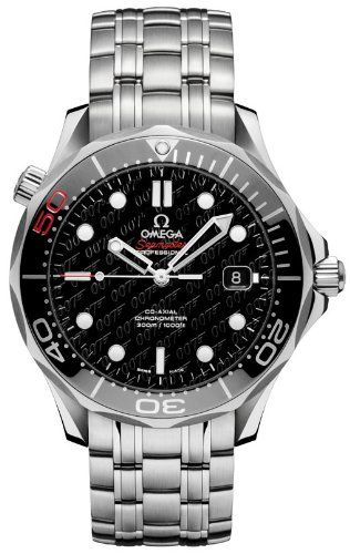 NEW OMEGA SEAMASTER 007 JAMES BOND 50TH ANNIVERSARY LIMITED EDTION MENS WATCH 212.30.41.20.01.005