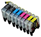 8 Pack Compatible Brother LC-71 ,