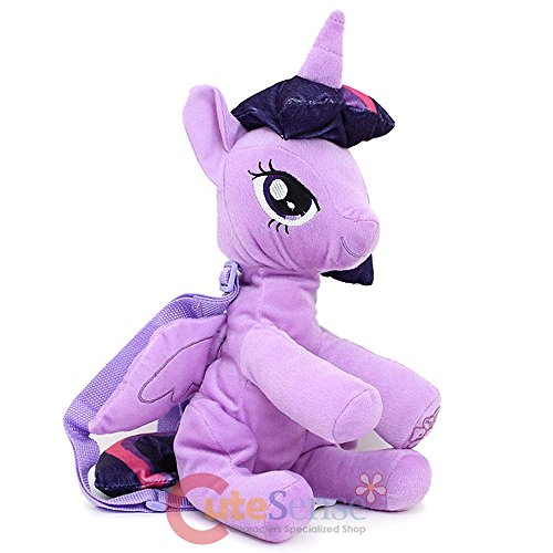 My Little Pony Twilight Sparkle Plush Backpack