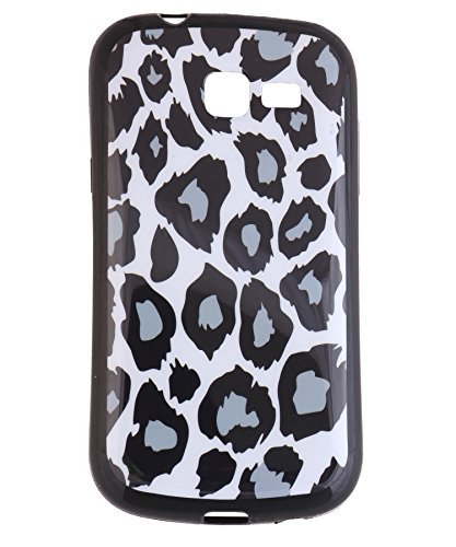 iCandy Matte Finish Soft Rubber Printed Back Cover for Samsung Galaxy Trend GT S7392 - Leopard  available at amazon for Rs.115