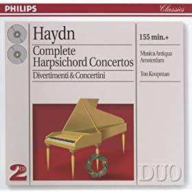Haydn: Concerto for Harpsichord and Orchestra in D major, Hob.XVIII:11 - 1. Vivace