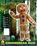 Shrek Child's Costume And Mask, Gingerbread Man Costume
