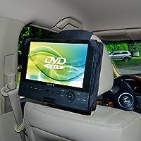TFY Auto-Kopfstütze Halterung für Dreh-und Flip-DVD-Player 9 Zoll