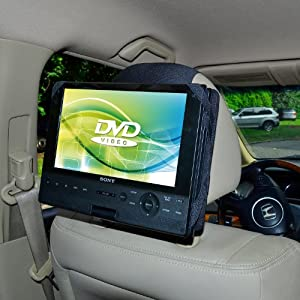 tfy car headrest mount for sony bdpsx910. Black Bedroom Furniture Sets. Home Design Ideas