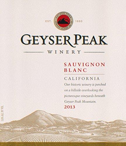 2013 Geyser Peak Sauvignon Blanc, California 750 Ml