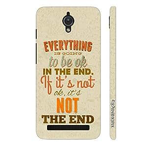 Enthopia Designer Hardshell Case Cut The Crap Back Cover for Asus Zenfone C
