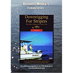 DVD Downrigging For Stripers with Mack Farr movie