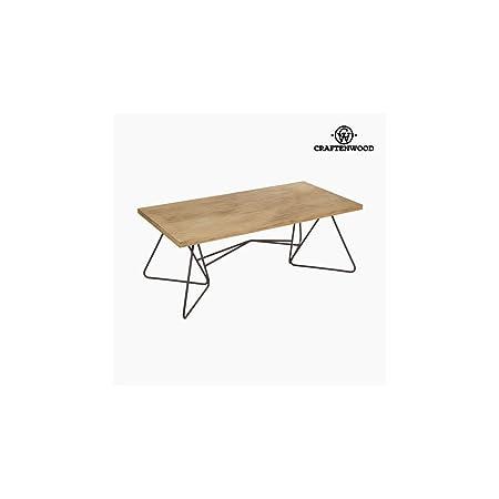 Tavolino da Caffè 120 x 45 x 60 cm) Forjare Brad Nero - Perfect Collezione by Craftenwood