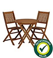 Rio Folding Table & 2 Chairs