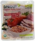 Sprout Organic Baby Food Stage 3 Vegetable Lasagna with Beef -- 5.5 oz