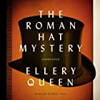 The Roman Hat Mystery Audiobook by Ellery Queen Narrated by Robert Fass