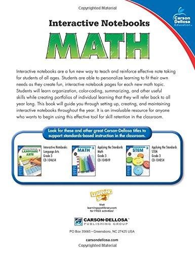 Math, Grade 3 (Interactive Notebooks)