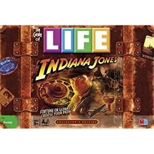 Game of Life Indiana Jones board game!