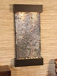 Adagio WC 1504 Whispering Creek Wall Fountain - Rajah Natural Slate
