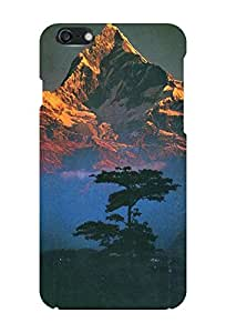 Generic Hard Printed Back Cover for Apple Iphone6 Plus (Multicolor)
